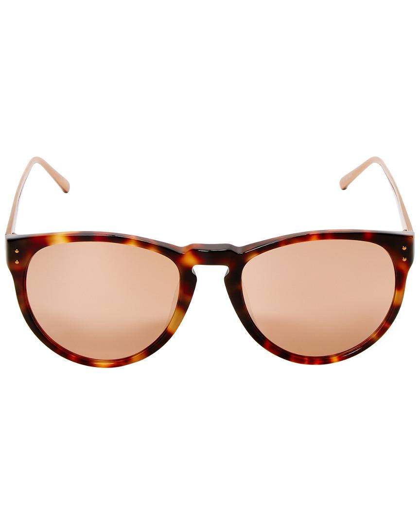 7f84a72f76 Lyst - Linda Farrow Luxe 52mm Cat-eye Sunglasses - Save 17.22222222222223%
