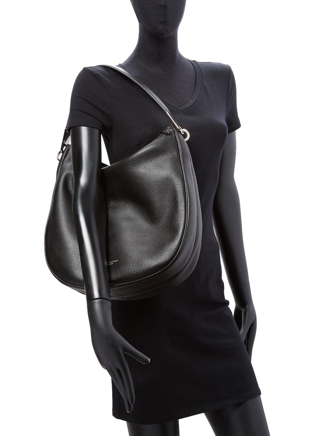 c29fab02105f Marc Jacobs Pike Place Leather Hobo Bag in Black - Lyst