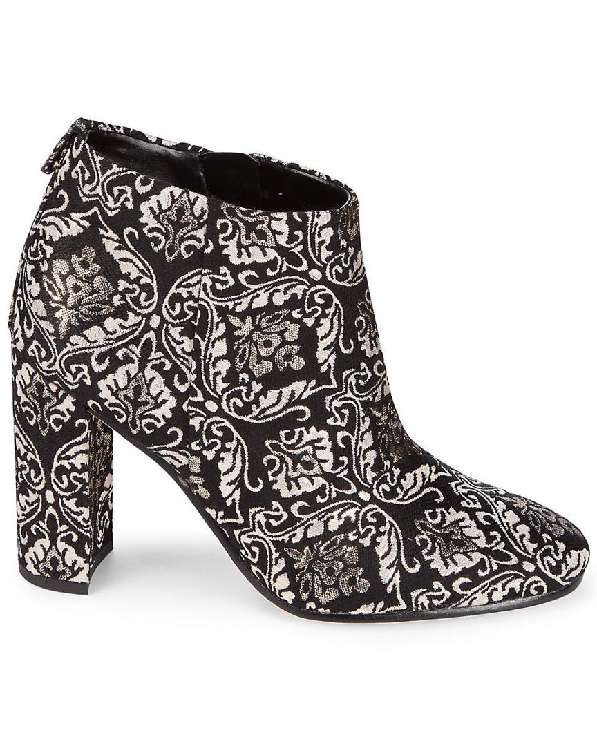 a932ec9d9dab4 Sam Edelman  cambell  Floral Damask Ankle Boots in Black - Save 63% - Lyst