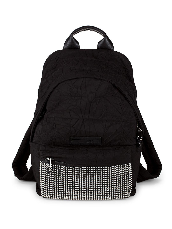 Discount New Sale Footlocker Finishline logo backpack - Black Alexander McQueen XM76VwB
