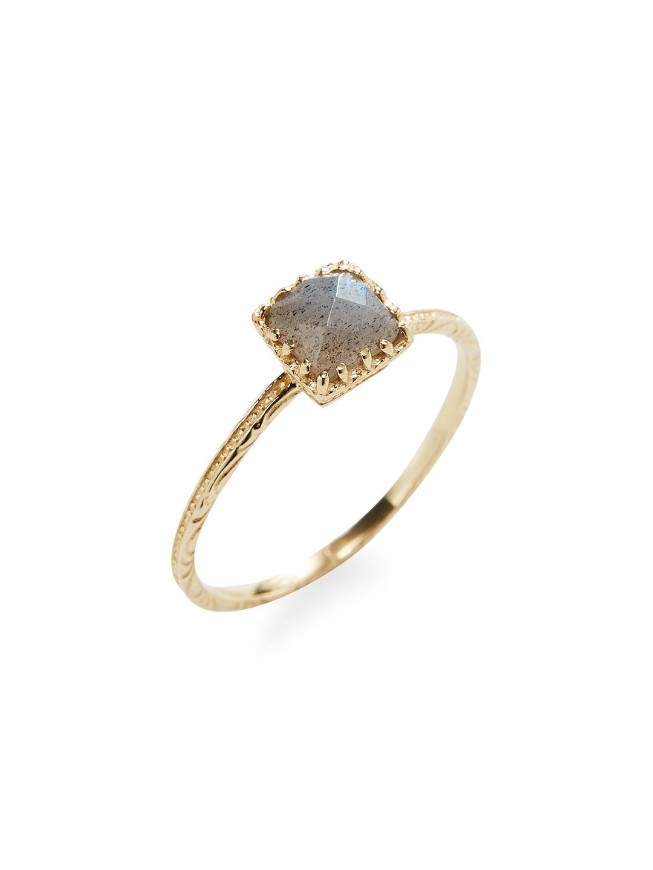 Jacquie Aiche Vintage Waif 14kt rose gold diamond ring qoUktR8yuf