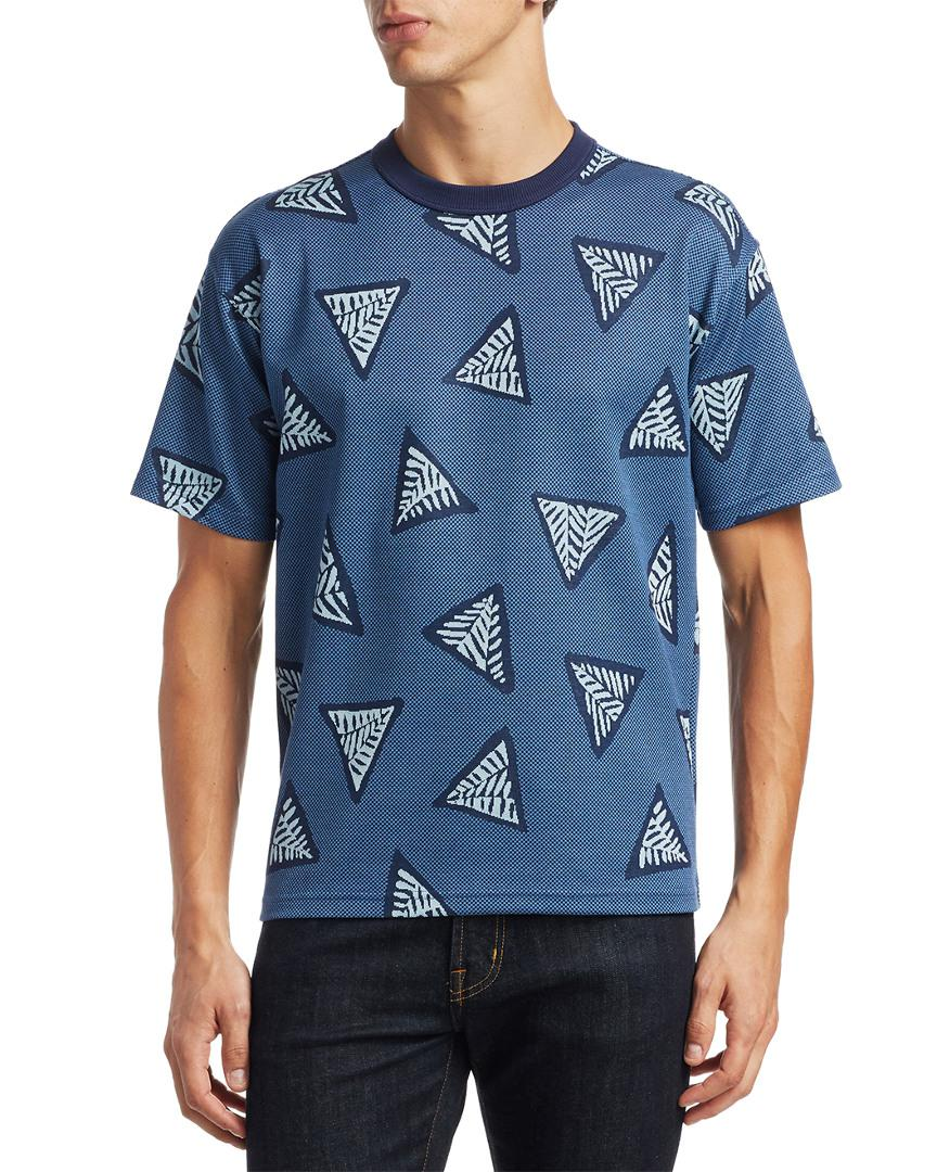 f5ee4e923d38 Lyst - KENZO Bermudas Printed T-shirt in Blue for Men - Save 60%