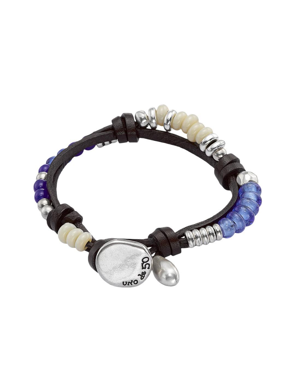 433691fe3155cf Lyst - Uno De 50 Freedom Vibes Bracelet in Blue