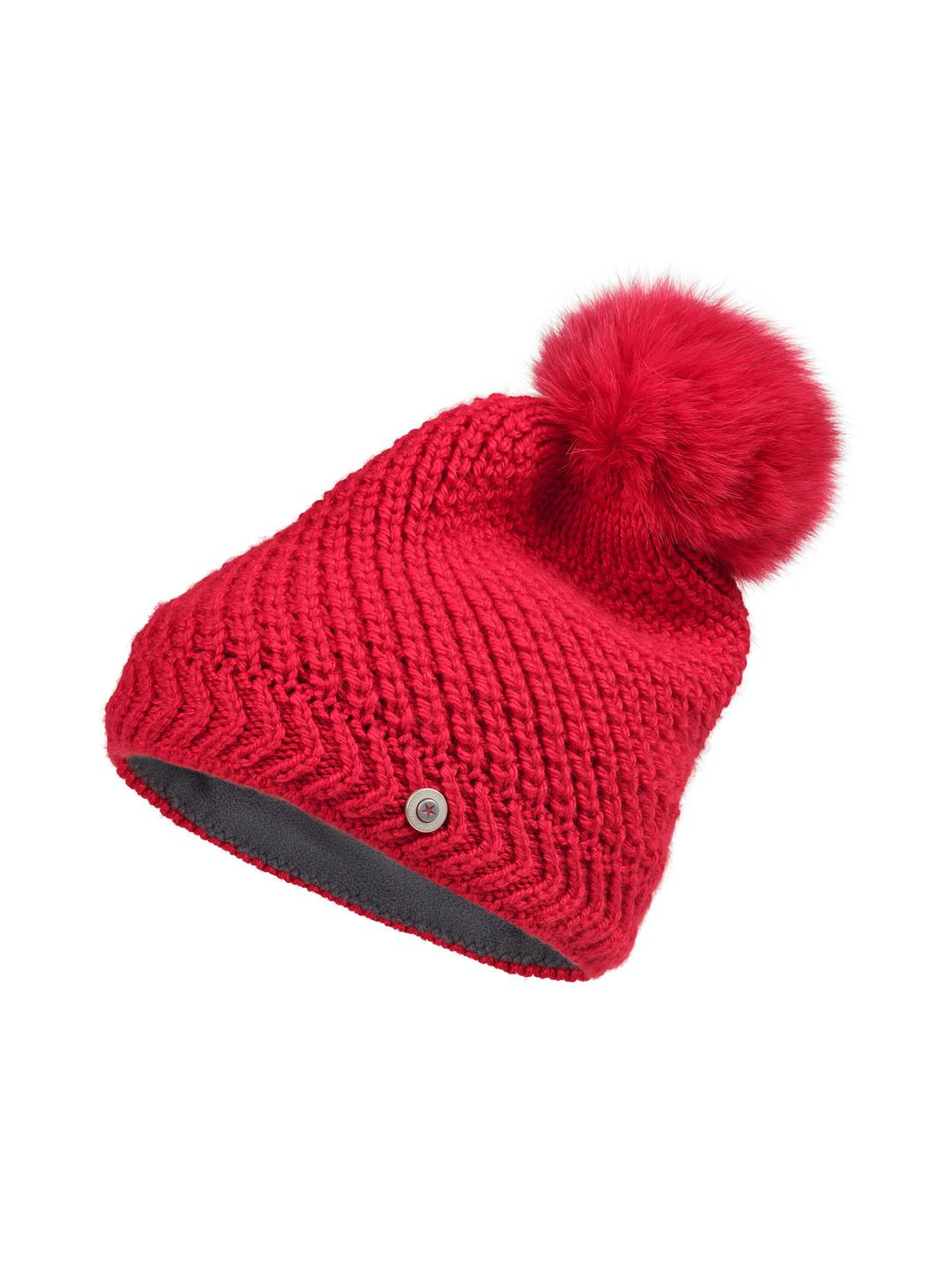 98eae306ea55a Bogner Lea Wool Beanie in Red - Lyst