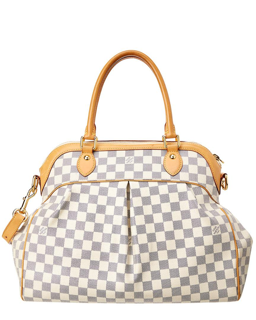 723d4e06d2f5 Louis Vuitton Damier Azur Canvas Trevi Gm - Lyst