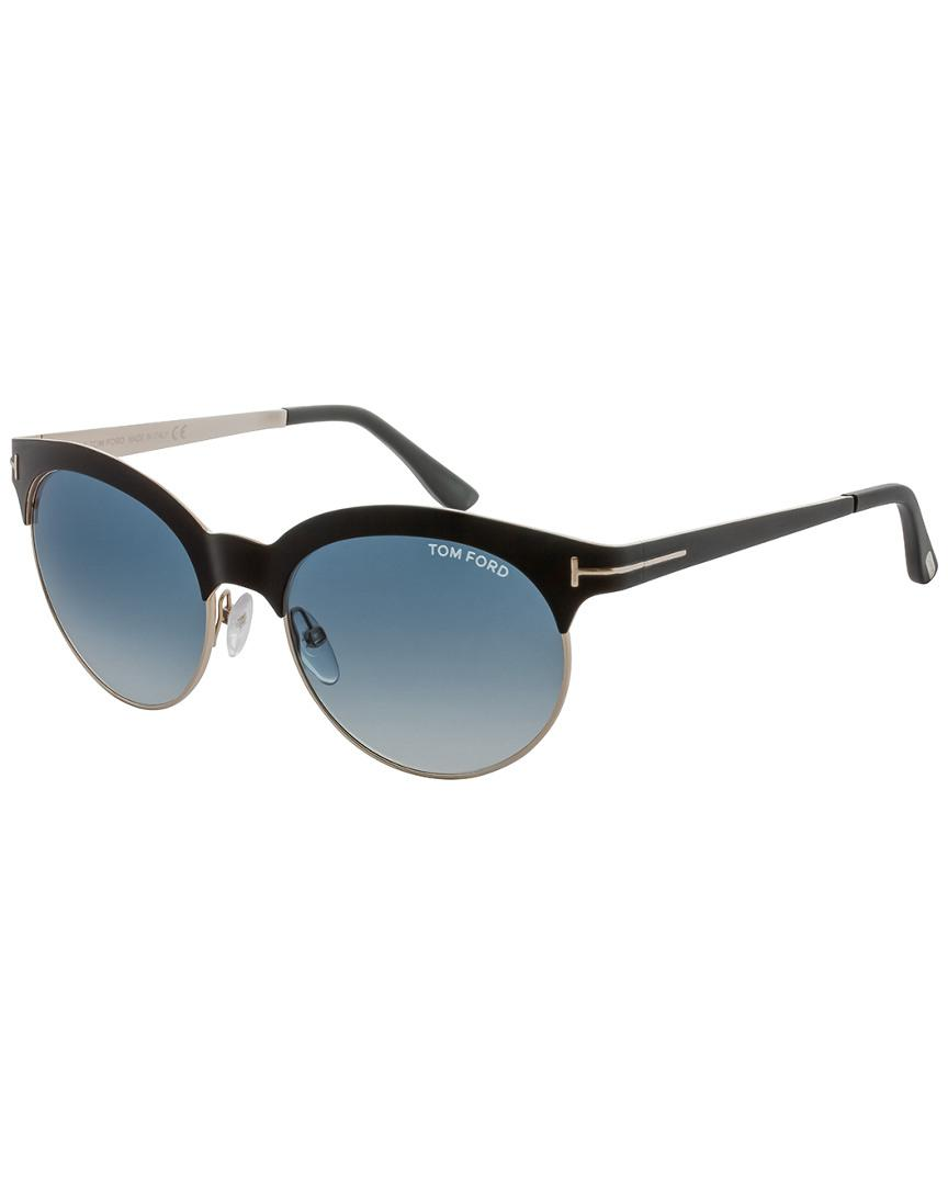 80686f816699d Tom Ford Angela 53mm Sunglasses in Blue - Lyst