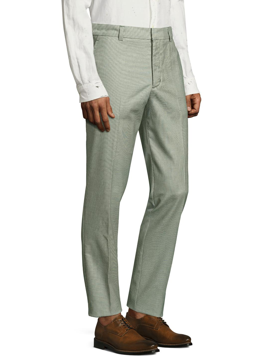 c3e9faba307 Lyst - Mr Turk Clyde Printed Trousers in Green for Men
