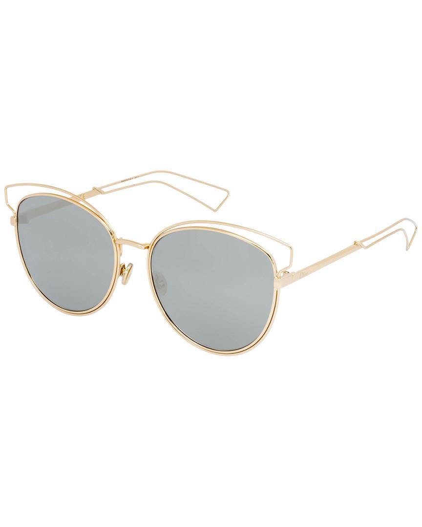 f35bdde464 Dior Women s Sideral 2 56mm Sunglasses in Gray - Lyst