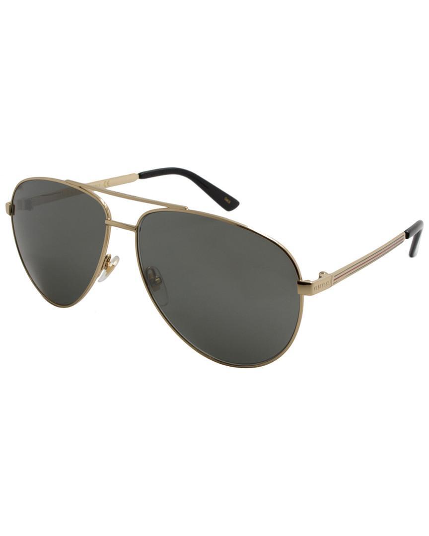 071cfddadfd90 Lyst - Gucci Men s GG0137S 61mm Sunglasses for Men