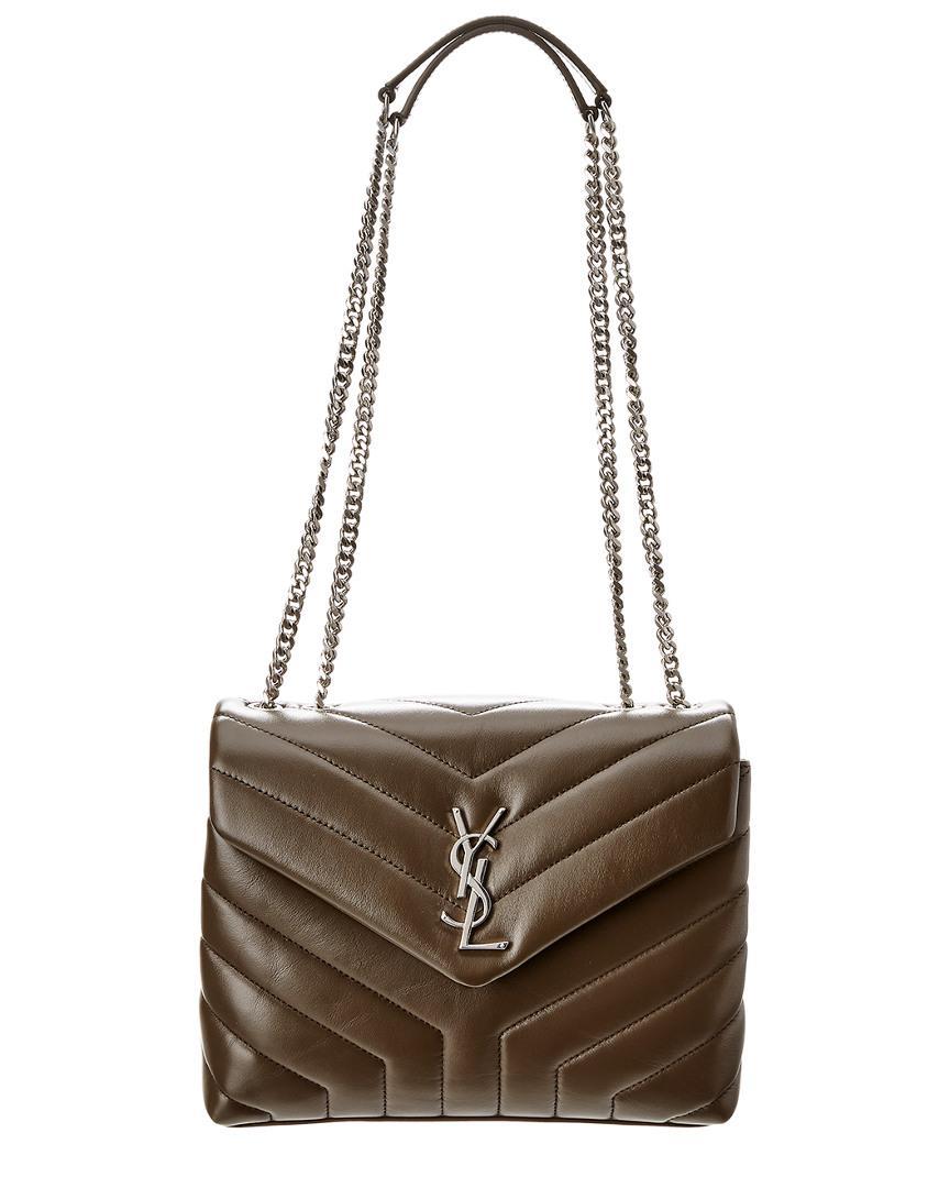 a03081664a016 Saint Laurent Loulou Small Matelasse Y Velvet Shoulder Bag - Lyst