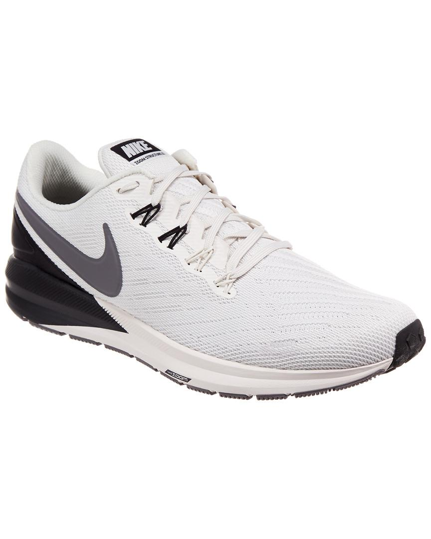 2f7331ae399 Lyst - Nike Air Zoom Structure 22 Shoe in Gray for Men - Save 1%