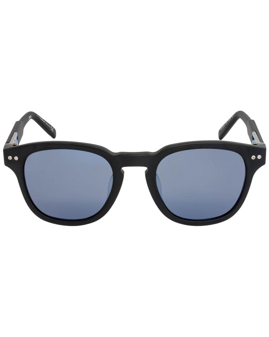 3053e6550a Montblanc Mont Blanc Men s Mb693s-f 51mm Sunglasses in Blue for Men ...