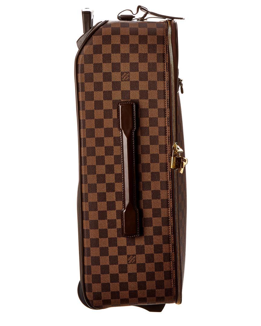 ac342e45f84c Louis Vuitton Damier Ebene Canvas Pegase 55 in Brown - Lyst
