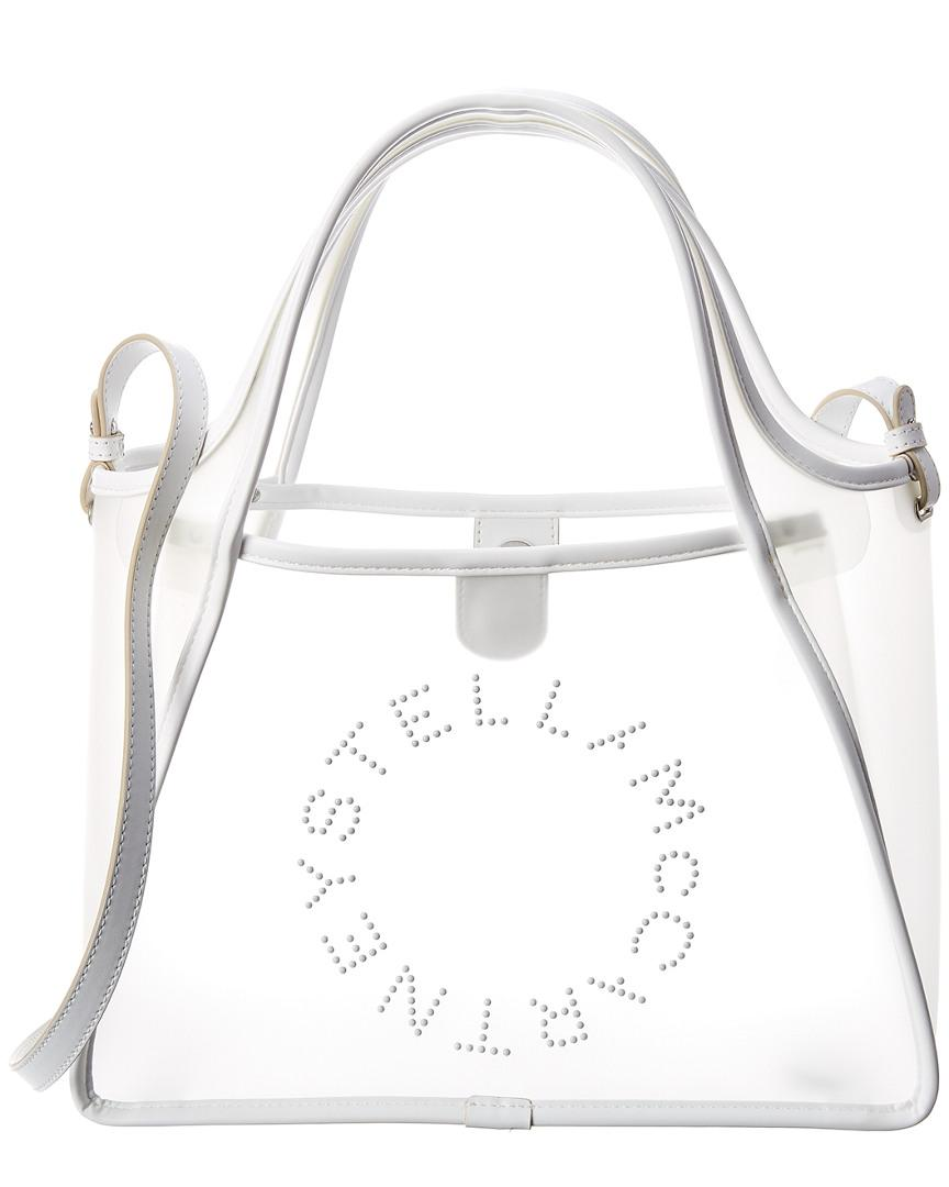 9fcafbcbad6d Lyst - Stella Mccartney Logo Crossbody Bag in White