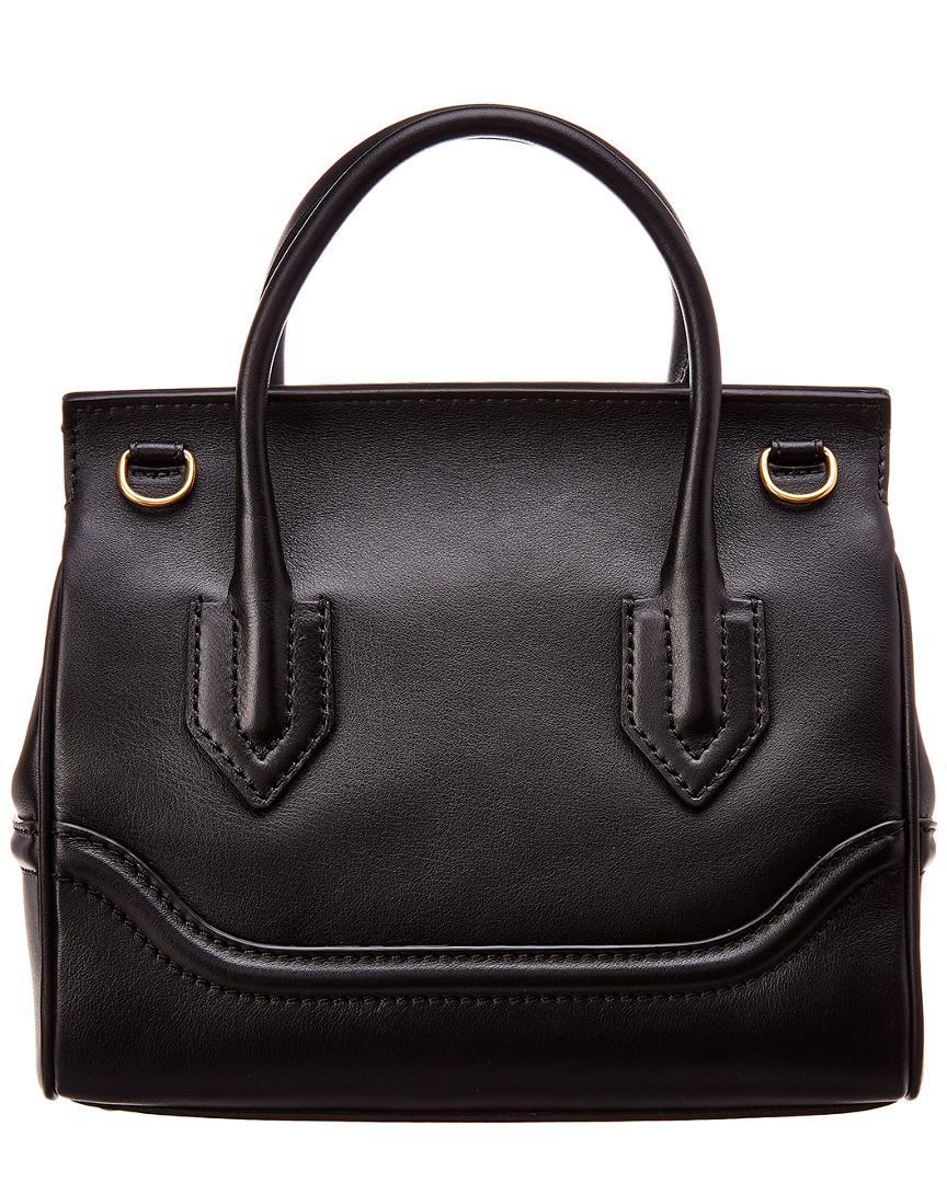 Versace Palazzo Empire Medium Leather Satchel in Black - Save  0.052465897166840136% - Lyst 241ca134b7ccb