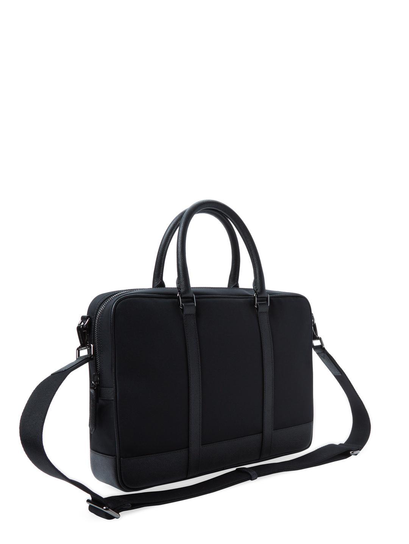 e3648e81929b Lyst - Burberry Newburg London Small Nylon Briefcase in Black for Men
