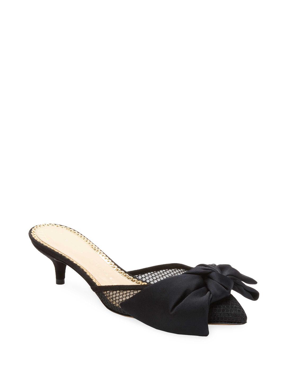Proenza Schouler Black French Terry Kitty Slippers oixyVn3Hd