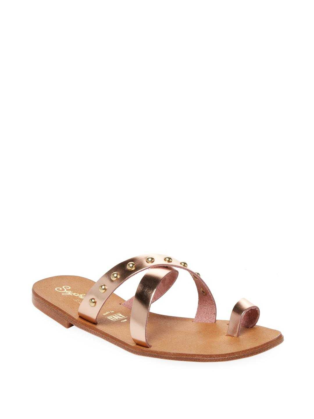 d28504b86544de Lyst - Seychelles Time Out Studded Sandal