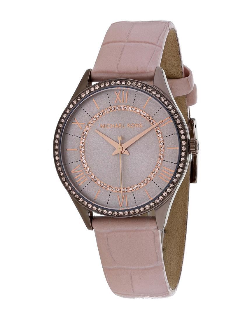 1b191673ff33 Michael Kors - Multicolor Women s Lauryn Watch - Lyst. View fullscreen