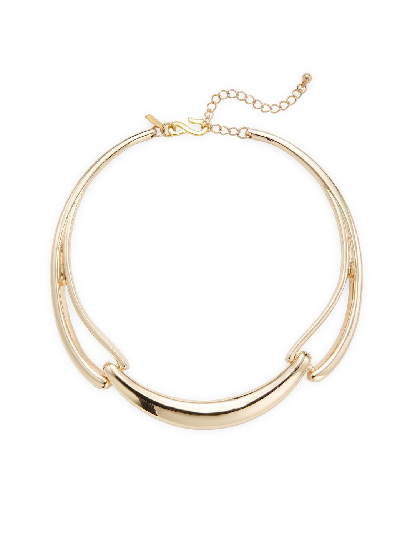 Kenneth Jay Lane 32 Cross Chain Necklace Black diamond 4PJtq6