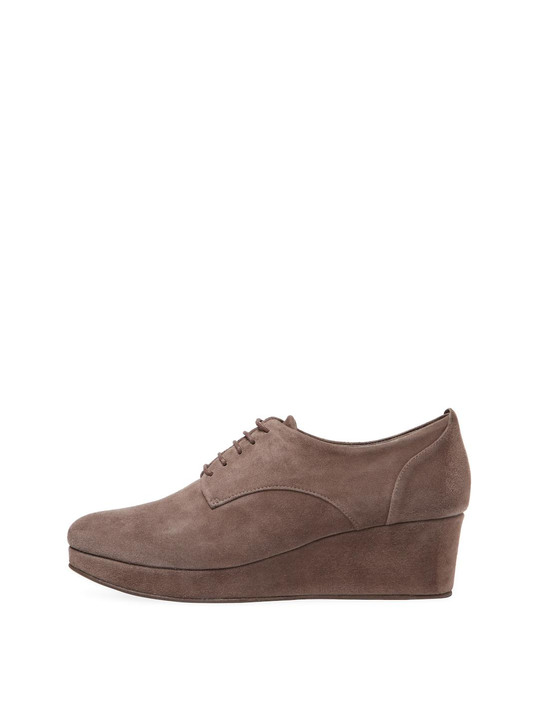 eaa967e3048 Lyst - Coclico Pearl Wedge Oxford in Gray