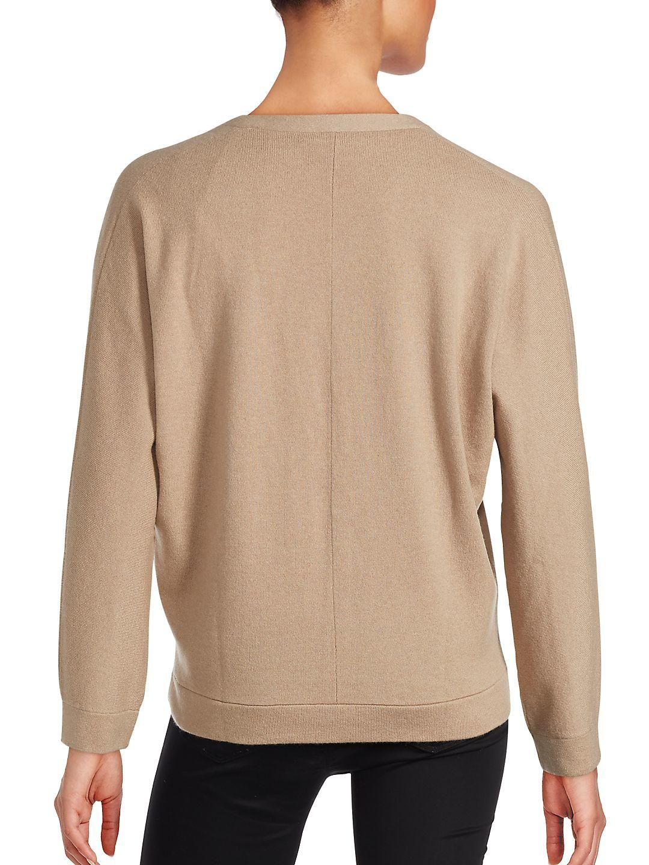 Brunello cucinelli Cashmere Sweater & Tank Top Set in Brown | Lyst