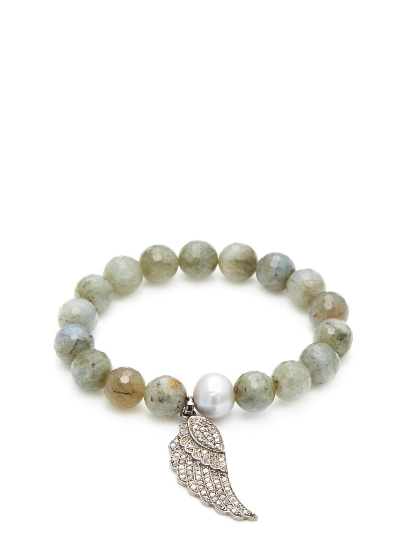 Bavna Baroque Tahitian Pearl Stretch Bracelet XHUV8Zk
