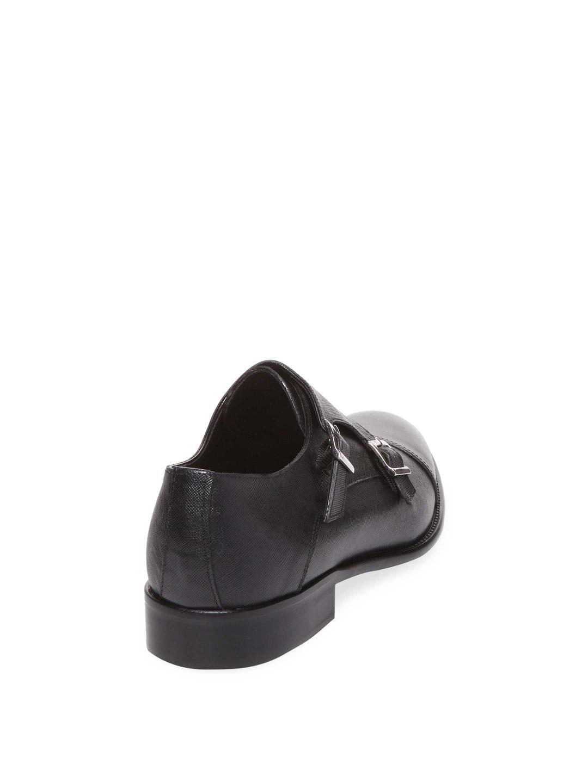 2dcbf72f0529 Lyst - Wall + Water Cap-toe Double Monkstrap in Black for Men