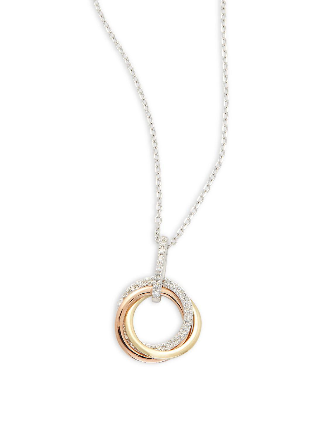 shop triple y products a miss necklace circle chain
