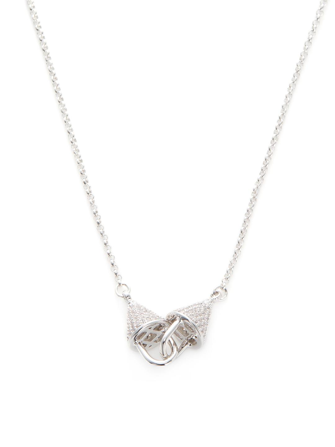 Womens Fractured Heart Pendant Necklace Eddie Borgo oN4vrXUlcd