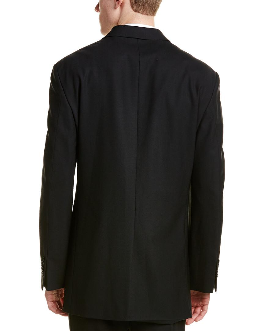 486b7eb4ddc8 Lyst - Brooks Brothers 346 Madison Fit Wool-blend Jacket in Black for Men -  Save 51%