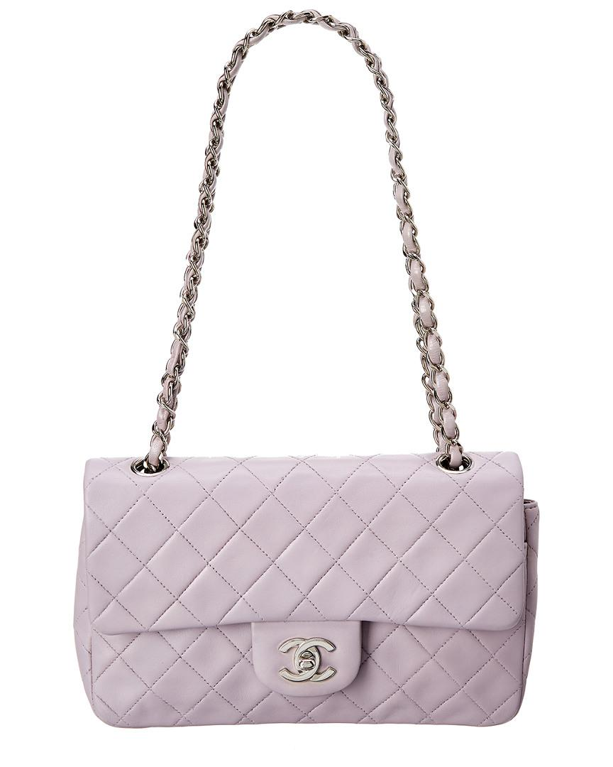 7ed7a07907b51d Chanel Purple Quilted Lambskin Leather Small Reissue 2.55 Flap Bag ...