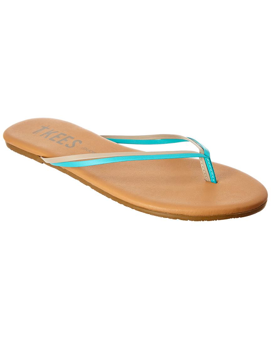 08f19bc70c77 Lyst - Tkees Duos Flip Flop in Brown