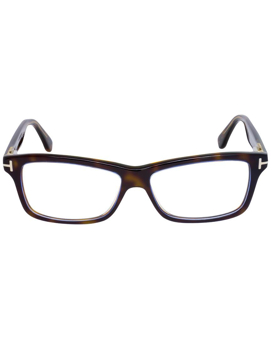 51d32ed7b4 Tom Ford Unisex Ft5146 54mm Optical Frames in Brown - Lyst