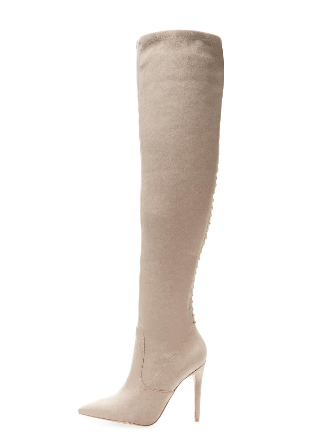 6fd9acfec0b Lyst - Kendall + Kylie Angela Over The Knee Boot in Brown