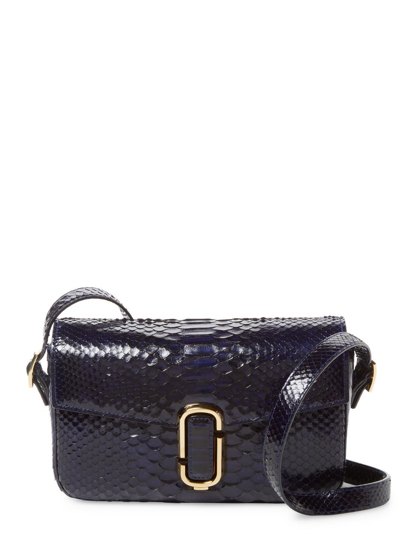 Marc Jacobs Black Smooth Leather And Black Crystal Mesh Bag RLT4LKNa