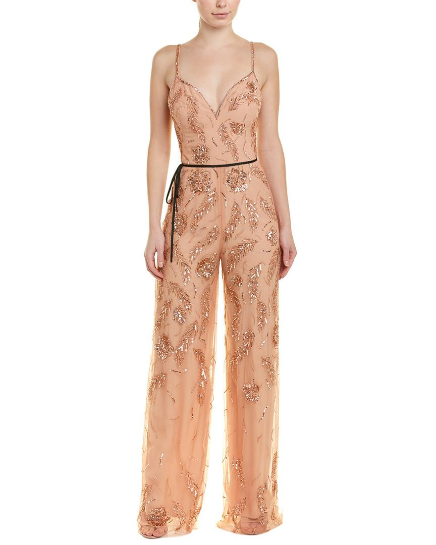 5fa5d7de718 Lyst - Monique Lhuillier Jumpsuit in Pink