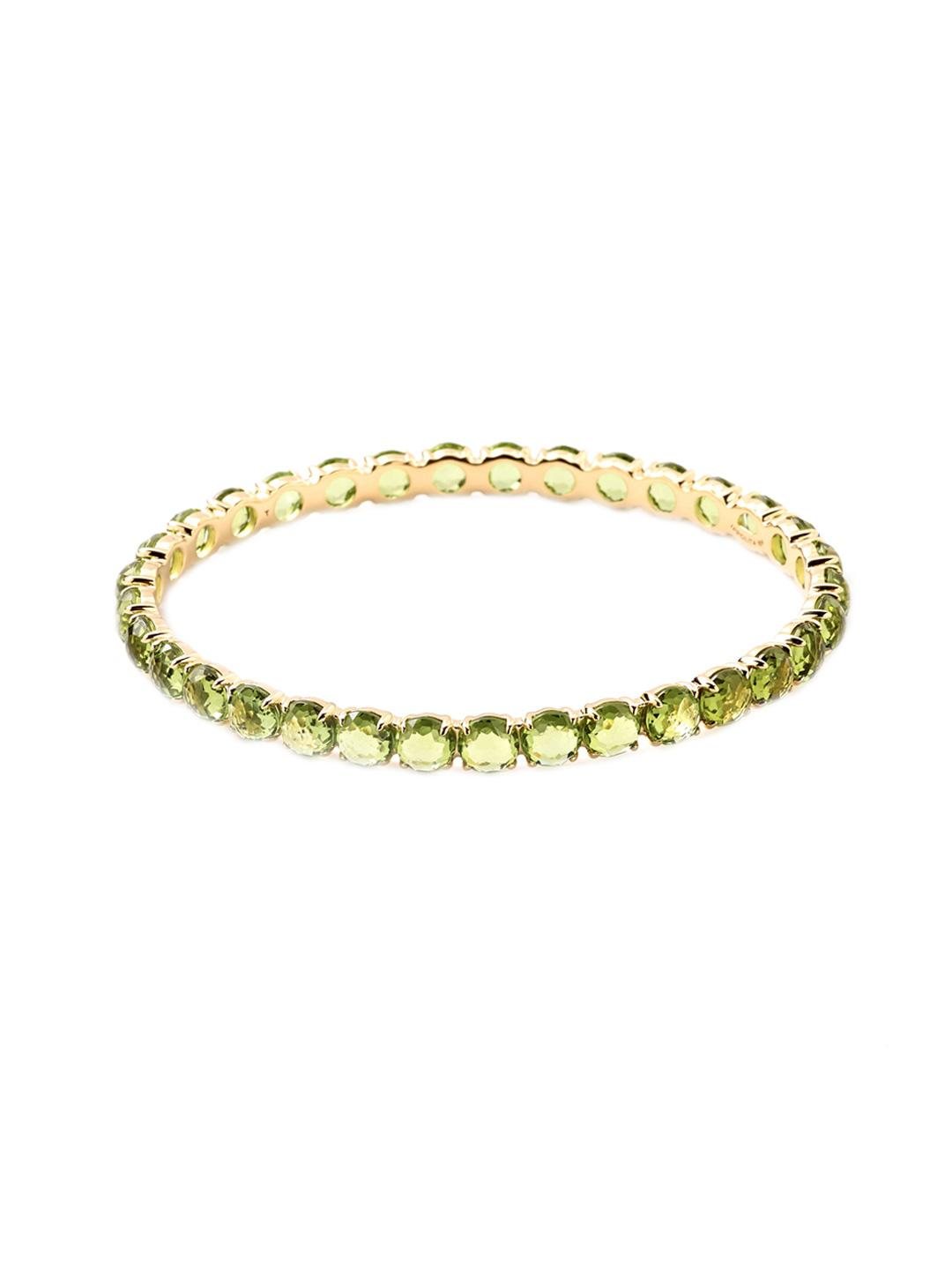 Ippolita 18k Gold Lollipop All-Around Bangle Bracelet in Peridot avbaaAZ