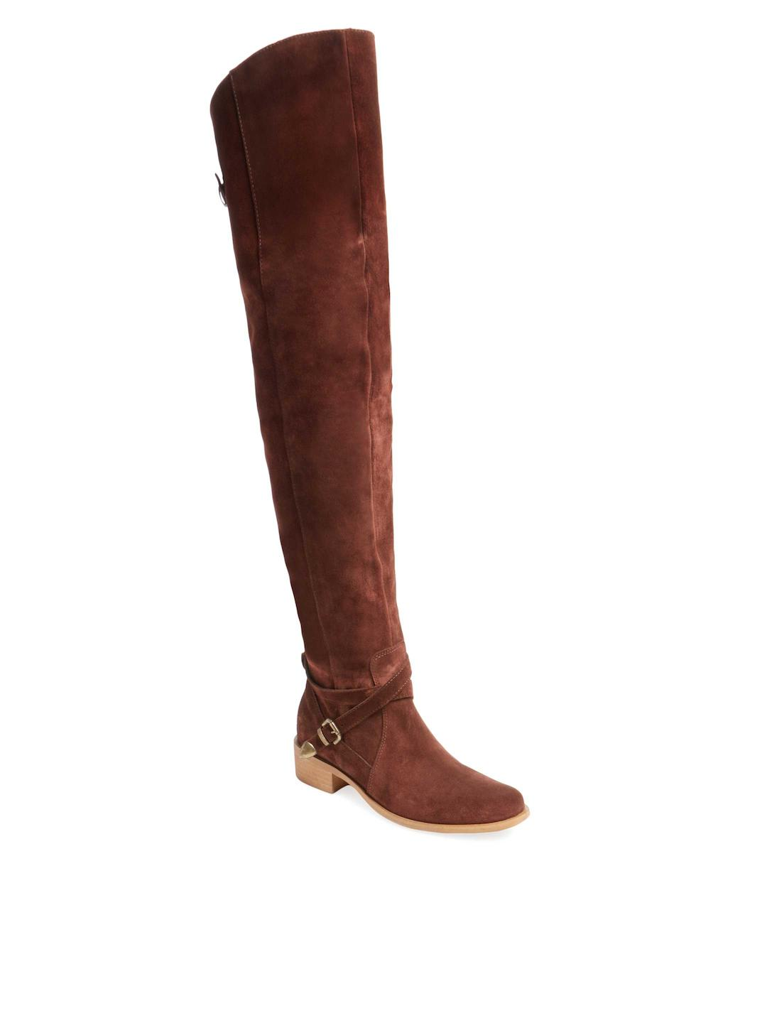 1673746946c0a9 Lyst - Charles David Gianna Over The Knee Boot in Brown