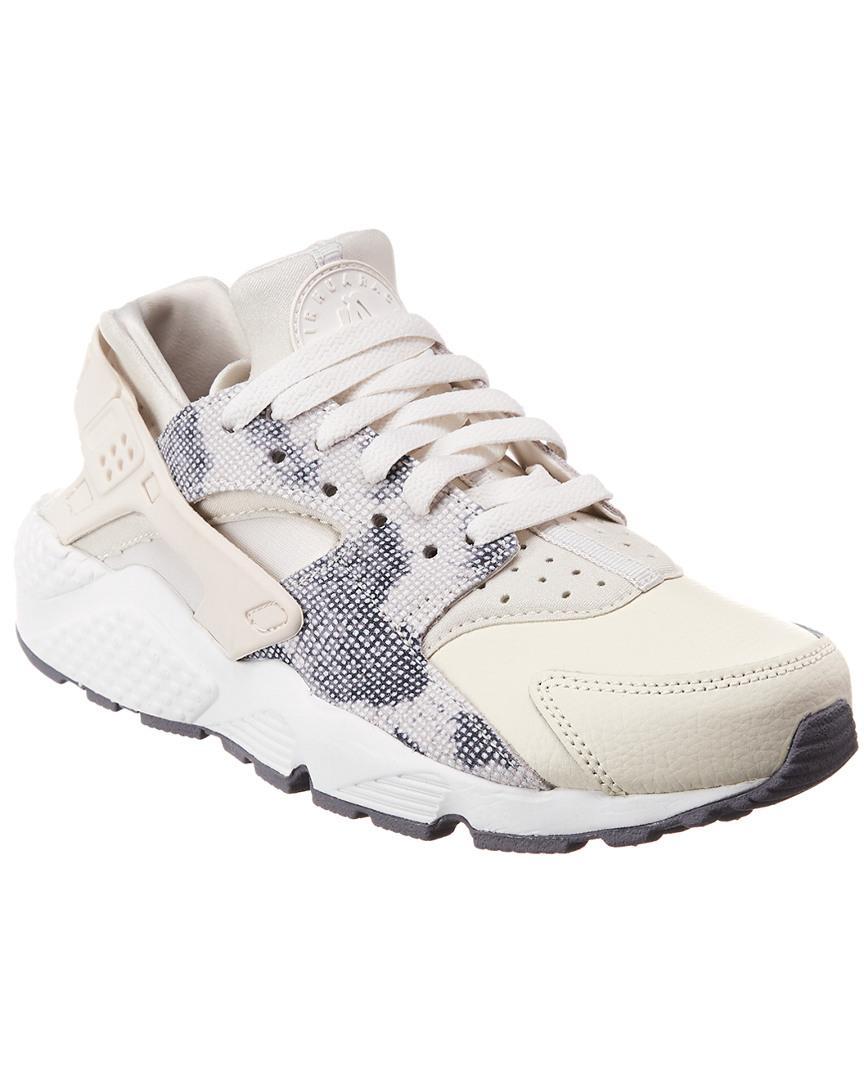 big sale 12c5e b6a71 Nike. Women s White Air Huarache Premium ...