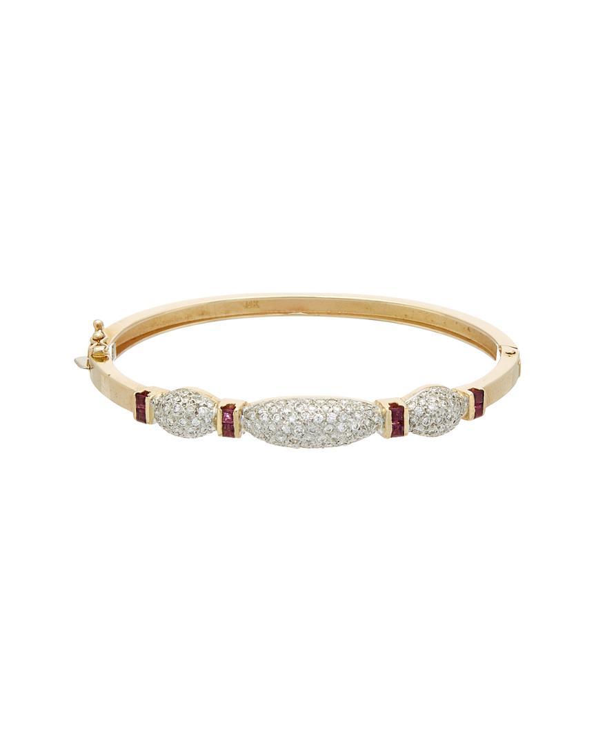 51fd6948c31c8 Lyst - Diana M. Jewels . Fine Jewelry 18k 2.10 Ct. Tw. Diamond ...