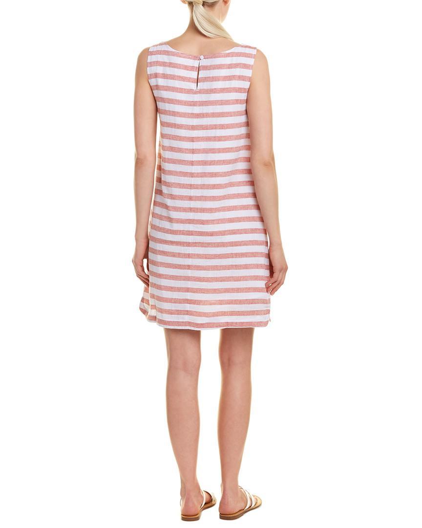 528de38358 Beach Lunch Lounge Linen-blend Shift Dress in Pink - Save 2% - Lyst