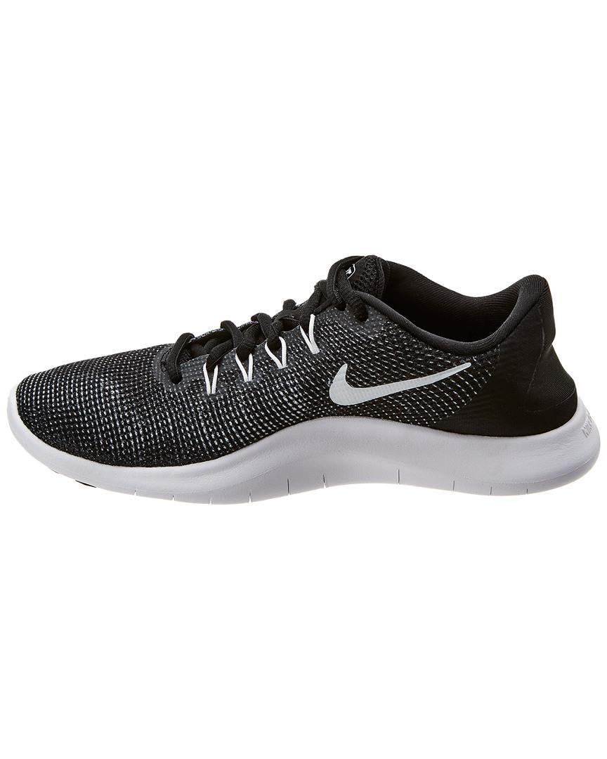 09dff5d6171a2 Lyst - Nike Flex Rn 2018 Mesh Sneaker in Black
