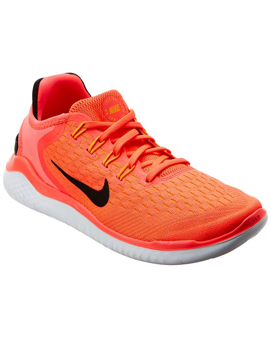 c92d72d98a2c Lyst - Nike Free Run 2018 Running Shoe in Pink