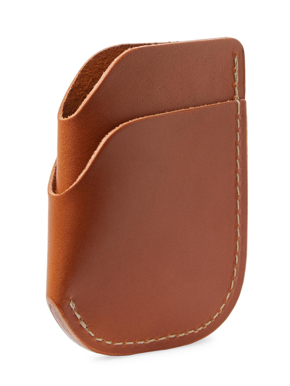 9d60efa137 Filson Leather Cash & Card Case in Brown - Lyst