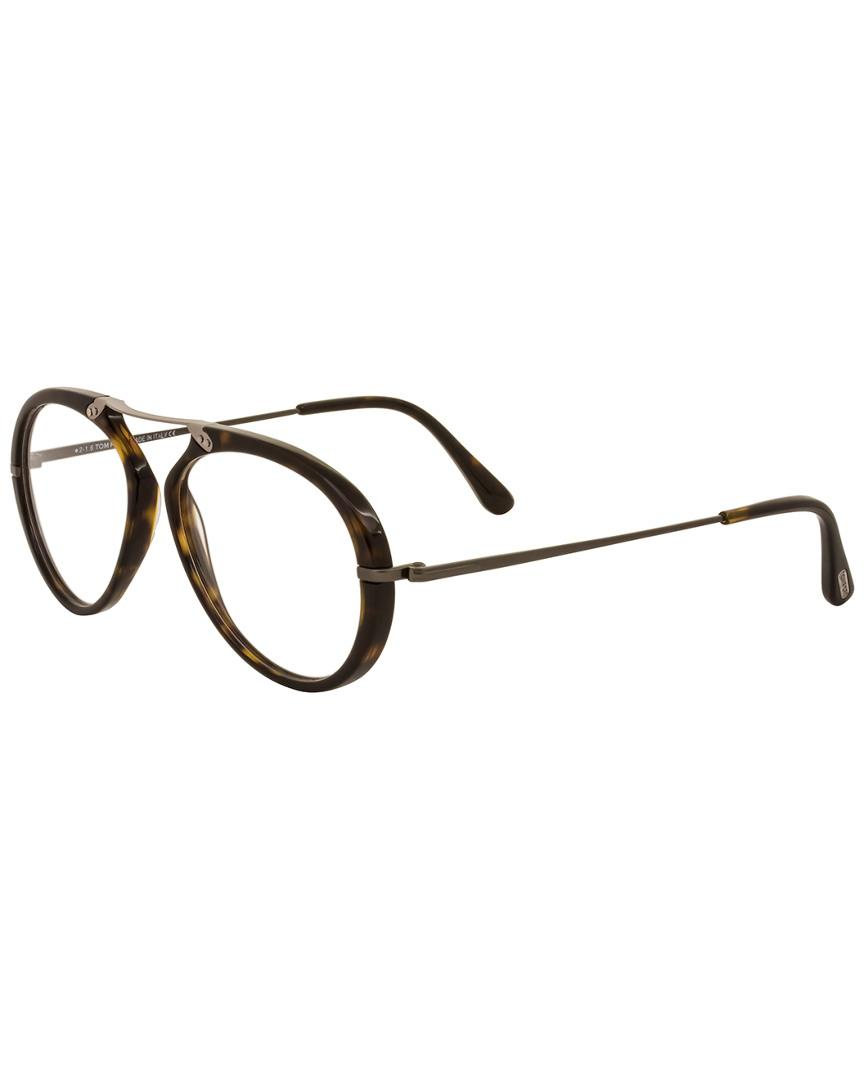 187498e1bf Lyst - Tom Ford Men s Ft5346 53mm Optical Frames in Brown