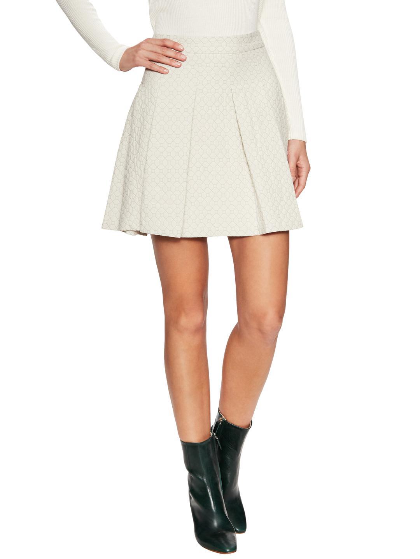Womens Pleated Cotton A-Line Skirt Derek Lam Wiki For Sale 0ZywmFLD