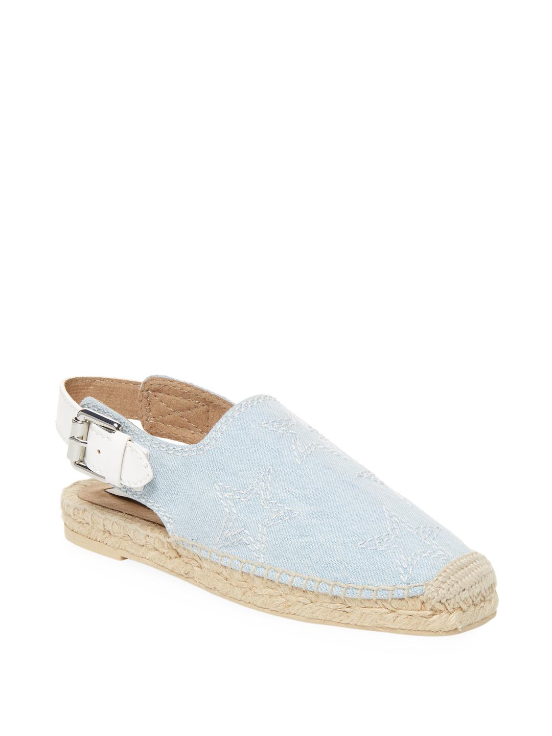 sale outlet locations Stella McCartney Woven Round-Toe Espadrilles latest cA0lYWII