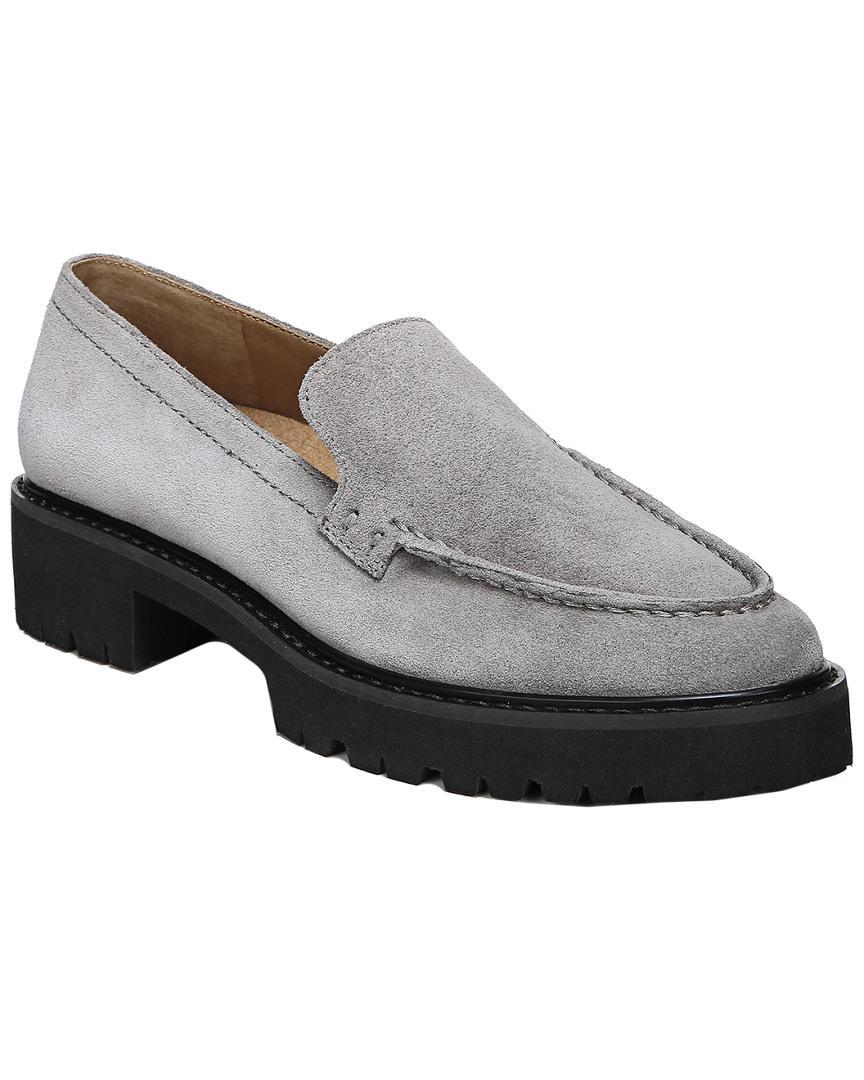 536685c7a95 Lyst - Franco Sarto Delana Suede Loafer in Gray