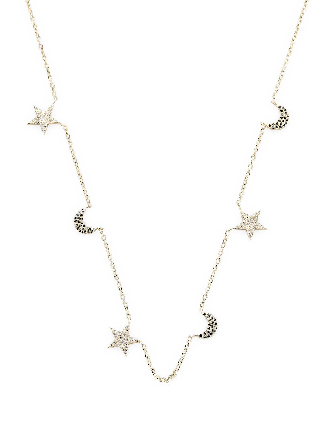 Bianca Pratt Womens Moon Phases Necklace